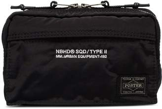 Neighborhood x Porter logo washbag