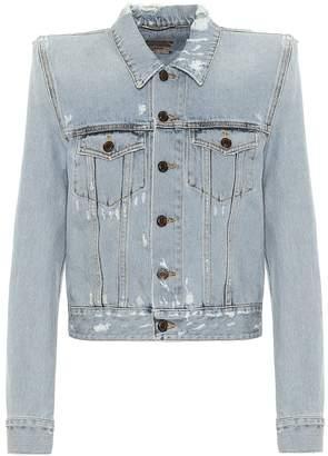Saint Laurent Cotton-denim jacket