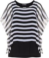 Doris Streich Plus Size Striped layered tunic