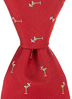 Roundtree & Yorke Martini Traditional Silk Tie