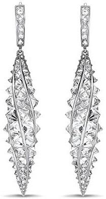 Pragnell 18kt white gold RockChic diamond drop earrings