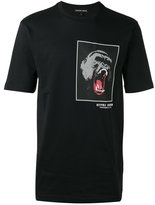 Markus Lupfer gorilla patch print T-shirt - men - Cotton - S