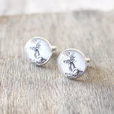 JuJu Treasures Deer Cuff Links