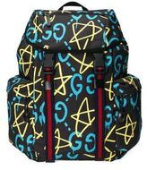Gucci GucciGhost Stars Canvas Backpack