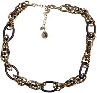 Bill Blass Gold Metal Necklaces