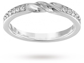 SWAROVSKI Curly Ring - Ring Size Extra Small