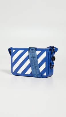 Off-White Diagonal Mini Flap Bag