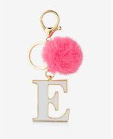 Express ok originals e faux fur pom keychain and bag charm