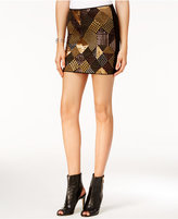 GUESS Gwendolyn Embellished Mini Skirt