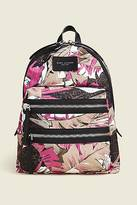 CONTEMPORARY Palm Printed Biker Backpack