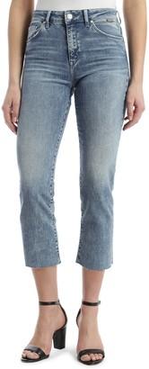 "Mavi Jeans Niki Vintage Wash Cropped Jeans - 27"" Inseam"