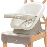 Safety 1st Feeding Clean and Comfy Feeding Booster Seat with Tray - White/Taupe