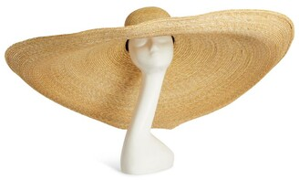 ELIURPI Straw Le Grand Cartwheel Hat