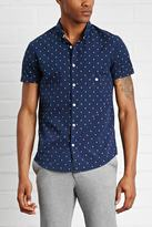 Forever 21 FOREVER 21+ Dotted Slim Fit Shirt