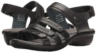 Propet Aurora (Black) Women's Hook and Loop Shoes