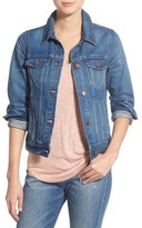 Madewell Cotton Denim Jacket (Pinter Wash)