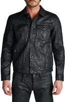 Cult of Individuality Men's Coated Denim Jacket
