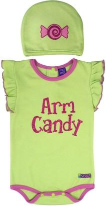 Sozo Arm Candy Bodysuit and Cap Set