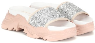N°21 Exclusive to Mytheresa Billy glitter sandals