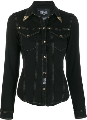 Versace saloon denim jacket