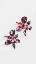 Lele Sadoughi Small Paper Lily Earrings