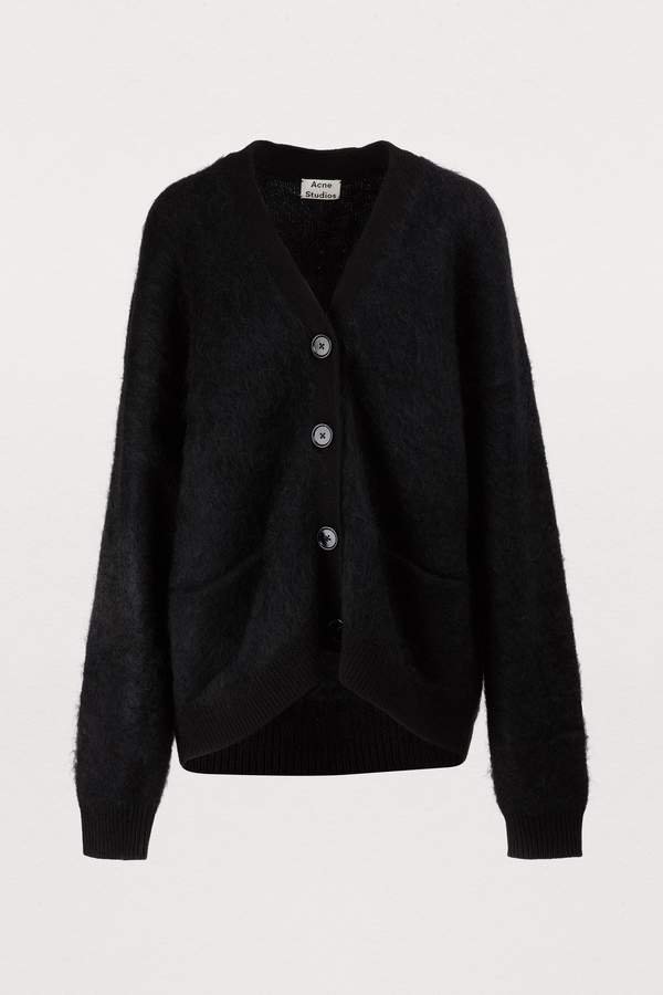 Acne Studios Rives wool and mohair cardigan