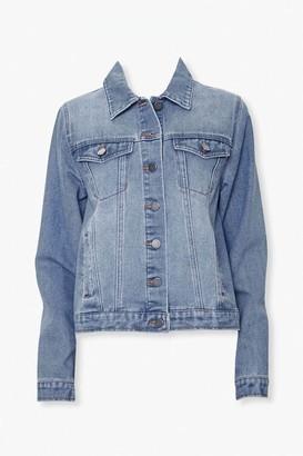 Forever 21 Button-Front Denim Jacket