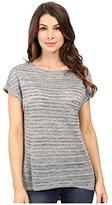 Calvin Klein Jeans Women's Extended Sleeve Stripe Top