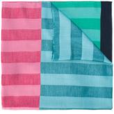 Paul Smith colour block striped scarf