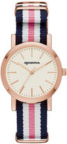 Arizona Womens Pink Strap Watch-Fmdarz153