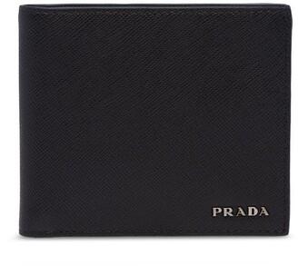Prada Two-Tone Bi-Fold Wallet