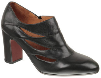 Chie Mihara Dandy Cutout Leather Zip Booties