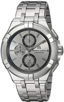Maurice Lacroix Men's 'Aikon' Quartz Stainless Steel Casual Watch, Color:Silver-Toned (Model: AI1018-SS002-130-1)