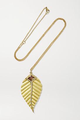 Brooke Gregson Maya 18-karat Gold Diamond Necklace