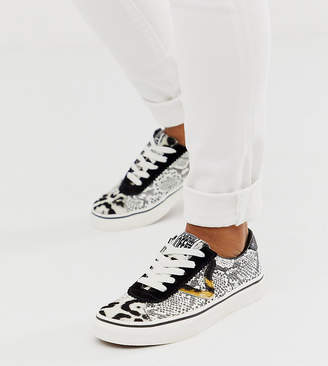 Vans Exclusive Sport predator animal printed trainers-Black