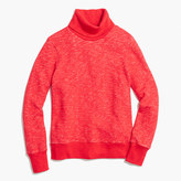 J.Crew Relaxed heather turtleneck sweatshirt