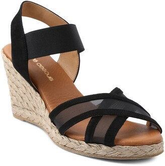 Andre Assous Lucia Espadrille Wedge Sandal