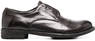 Officine Creative Laceless Slip-On Leather Shoes