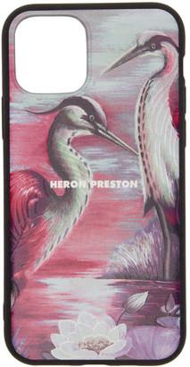 Heron Preston Pink Times iPhone 11 Pro Case