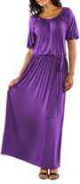 24/7 Comfort Apparel Day And Night Maxi Dress