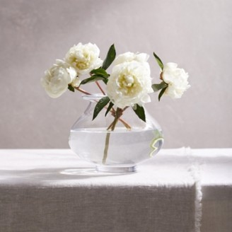 The White Company Fairford Vase, Clear, One Size