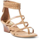 Ralph Lauren Meira Vachetta Wedge Sandal