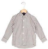 Oscar de la Renta Boys' Checkered Button-Up Shirt