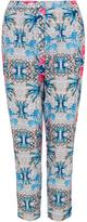 Wolfwhistle Wolf & Whistle Geometric Floral Trousers
