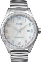 Timex Classic Men's Watch with Mop Dial and An Expander - T2N408