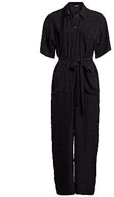 Rachel Comey Women's Maxfield Abstract Print Flightsuit - Size 0