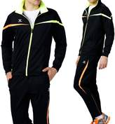 Fuerza Mens Premium Material Knit Training Warm Up Tracksuit