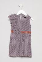 Ikks Ruffle Print Dress