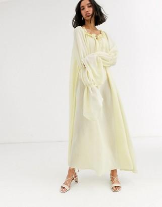 Aeryne Euthria smock midi dress