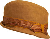 Panama Trimmed Trilby